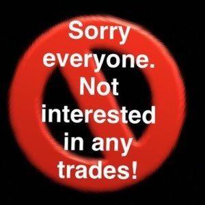 I Do Not Trade
